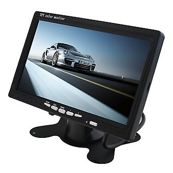 """Portable 7"""" Tft Lcd Digital Color Screen Monitor For Car Rear View New"""