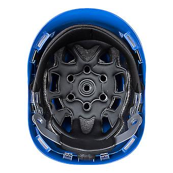 Portwest Mens Height Endurance Mountaineer Helmet Royal Blue One Size Blue