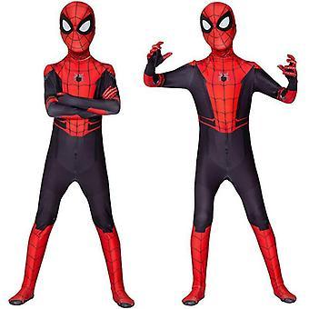 Kid Boy Spider-man Far From Home Spiderman Zentai Cosplay Costume