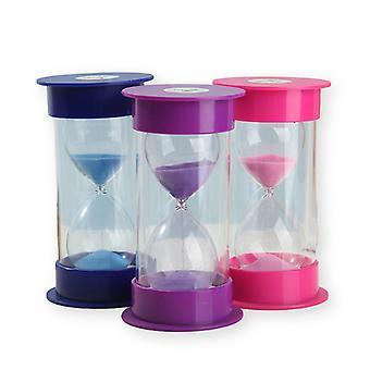 3pcs 3 / 5 / 10 Minute Hourglass Timer Children's Birthday Gift Ornament