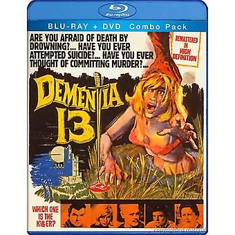 William Campbell - Dementia 13 [BLU-RAY] USA import