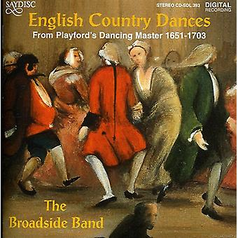Broadside Band - English Country Dances [CD] USA import