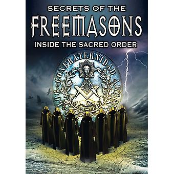 Secrets of the Freemasons: Inside the Sacred Order [DVD] USA import