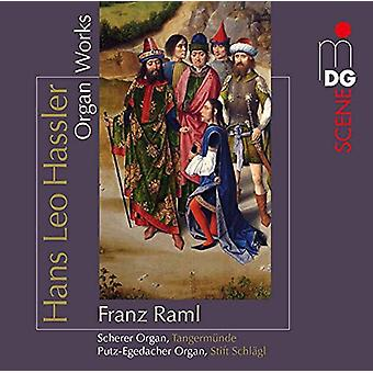 Franz Raml (Organ) - Hassler: Organ Works [CD] USA import