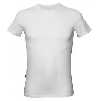 Drogba & Co. door HOM Ronde hals T-shirt, White