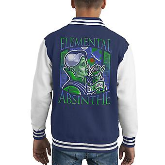 Elementare Absinth fünfte Element Kid Varsity Jacket