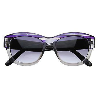 Synthétique fantaisie Mod épais cadre mignon Womens Cat Eye Shades lunettes de soleil 8314