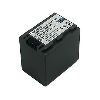 Sony NP-FP90 Replacement Battery from Dot.Foto - 7.2v / 2600mAh - 2 Year Warranty [See Description for Compatibility]
