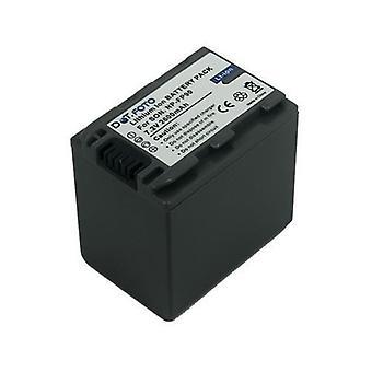 Ersättningsbatteri för Sony NP-FP90 från Dot.Foto - 7.2V / 2600mAh - 2 års garanti [Se beskrivning för kompatibilitet]