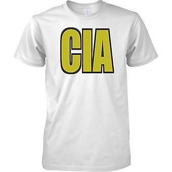 CIA Central Intelligence Agency Word - Kids T skjorte