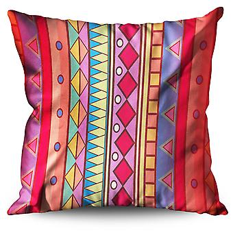 Stripes Patterns Linen Cushion 30cm x 30cm | Wellcoda
