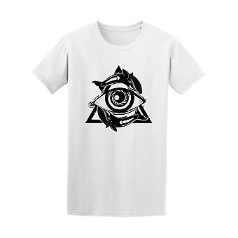 Spirituelle All Seeing Eye Pyramide Symbol Tee - Bild von Shutterstock