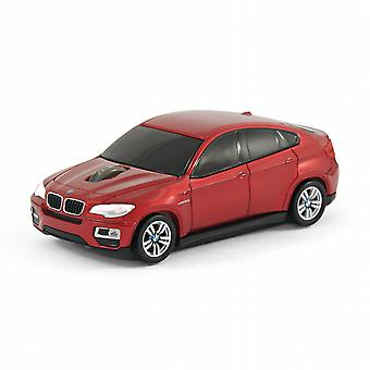 Ufficiale BMW X 6 auto Computer Wireless Mouse - rosso
