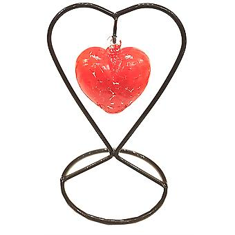 Milford kolekcji przyjaźni serca & Stand - czerwony