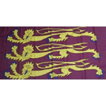 Richard de Leeuw hart vlag 5 ft x 3 ft