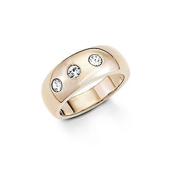 s. Oliver gioiello donna anello in acciaio IP Rose SO1270