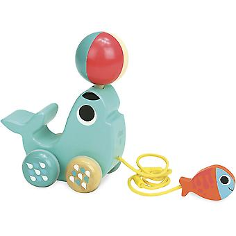 Vilac Sea Lion Pull Toy