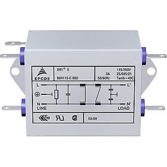 TDK B84115EB110 EMI suodatin palon esto aine 250 V AC 10 A 47 μH (p x l x k) 159 x 50,8 x 44,5 mm 1 kpl (s)