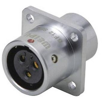 Weipu SF1213/S5 Bullet connector Connector, straight Series (connectors): SF12 Total number of pins: 5 1 pc(s)
