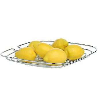 Bowl, fruit and vegetable basket basket steel wire chromed