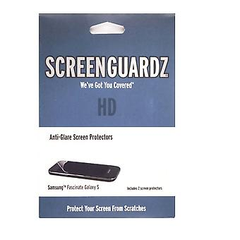 BodyGuardz ScreenGuardz+HD Screen Protector for Samsung Fascinate/Mesmerize I500 (Galaxy S) (2-Pack)