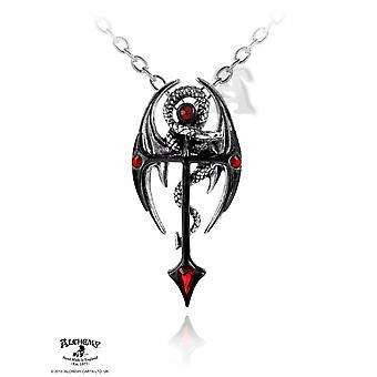 Alchemy Gothic Draconkreuz Pendant