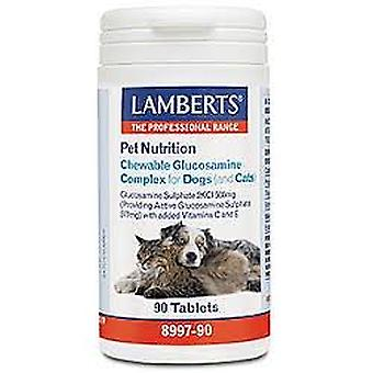 Lamberts Chewable Glucosamine Complex for Dogs (& Cats) 90 tablets