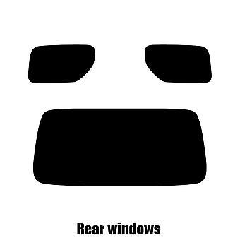 Pre cut window tint - Suzuki Jimmy - 2005 to 2012 - Rear windows