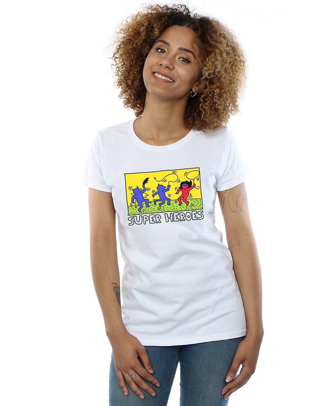 DC Comics Women's Batman Pop Art T-Shirt