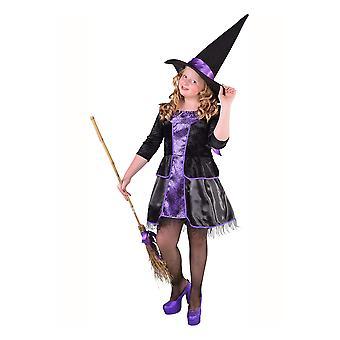 Faschingskostüme für Kinder Hexe Kleid für Mädchen