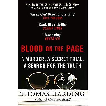 Bloed op de pagina