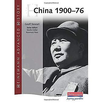 La Chine 1900-76 (Heinemann avancée historique)