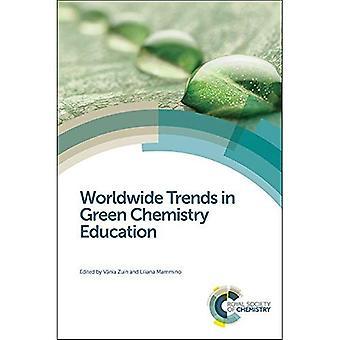 Maailmanlaajuista kehitystä Vihreä kemia koulutus