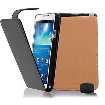 Cadorabo Hülle für Samsung Galaxy NOTE 3 Case Cover - Handyhülle im Flip Design aus glattem Kunstleder - Case Cover Schutzhülle Etui Tasche Book Klapp Style