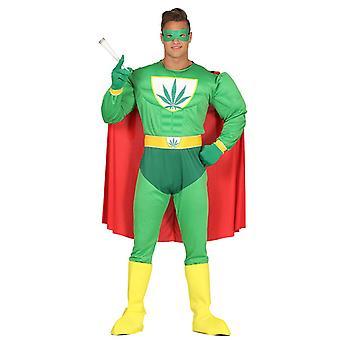 Costumes de déguisements de super-héros mens Marijuana