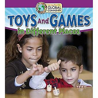 Spielzeug und Spiele an verschiedenen Orten (lernen über unsere globale Community)