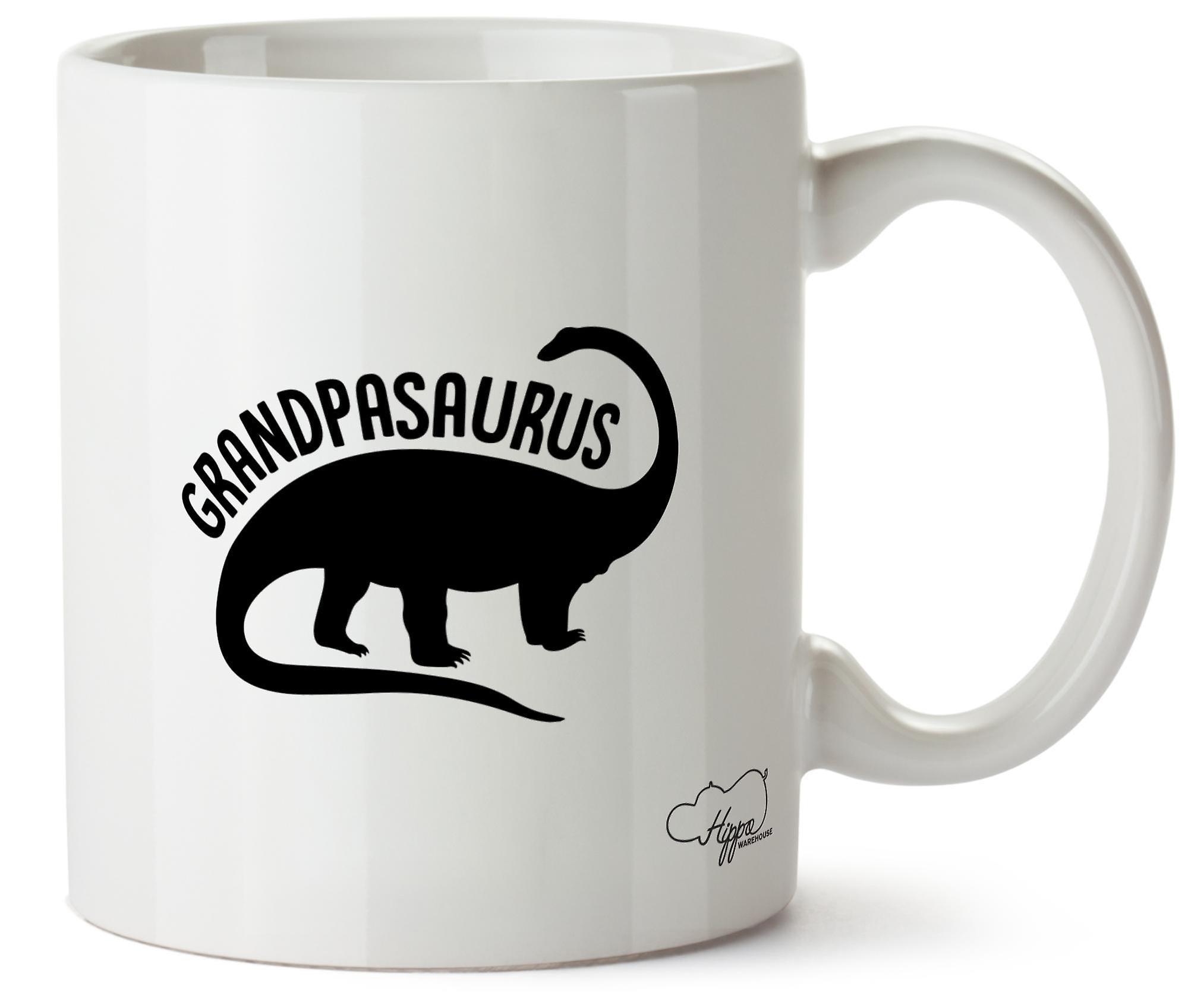 Hippowarehouse Grandpasaurus печатных Кубка керамическая кружка 10oz