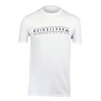 Quiksilver Herren saubere Wege T-Shirt-weiß