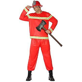 Männer Kostüme Brandweerman verkleedpak