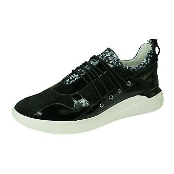 Geox D Theragon A donna Sneakers in suede/scarpe-nero
