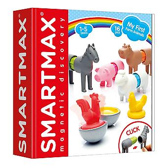SmartMax My First Farm Animals Magnetic Set 16 PCs