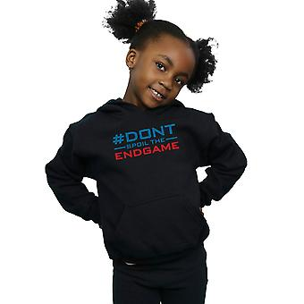 Marvel Girls Avengers Endgame Don't Spoil The Endgame Hoodie