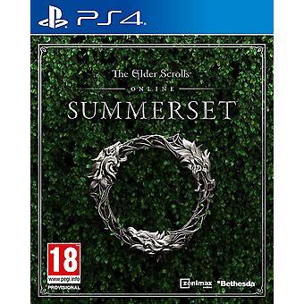 Elder Scrolls online Summerset PS4 spil