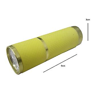 Milestone Camping - 9 Led Torch (yellow)