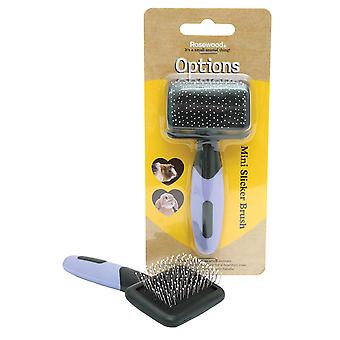 Rosewood Options Mini Slicker Pet Brush