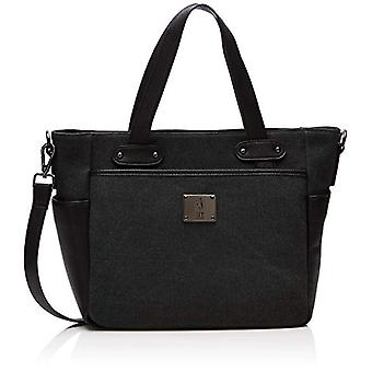 Fly London Zert651fly - Black/Black Women's Tote Bags 13.5x27x39 cm (W x H L)