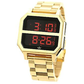 Adidas archive mr2 Quartz Digital Men's Watch with Z21502-00 Stainless Steel Bracelet