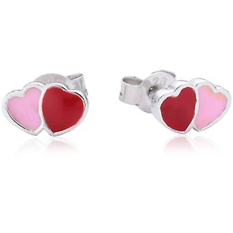 Pasionist-children's earrings in Sterling 925 silver - rhodie-plated - glazed 611860