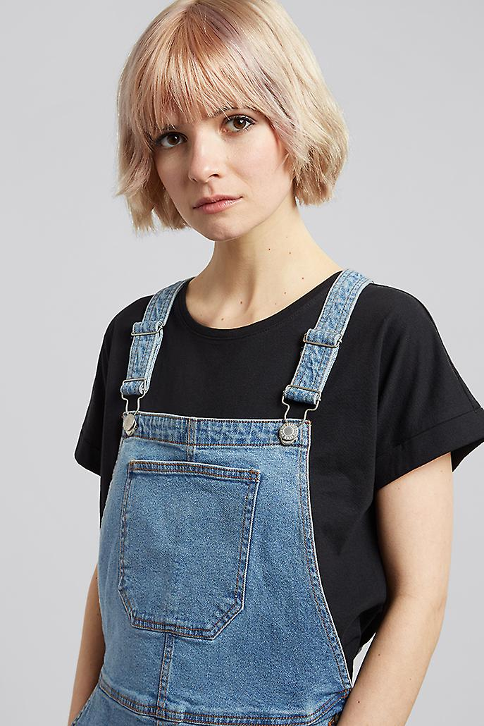 Brave Soul Pippa Denim Dress Blue