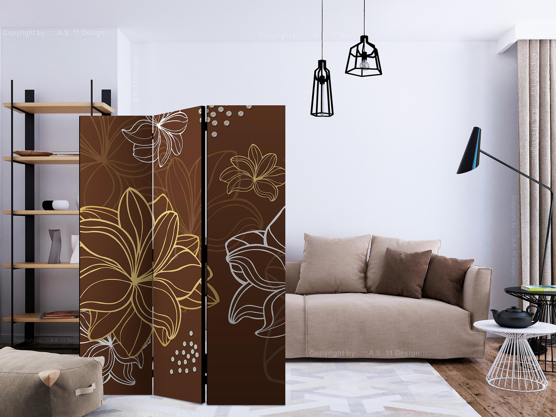 Paravent 3 volets - Autumnal flora [Room Dividers]
